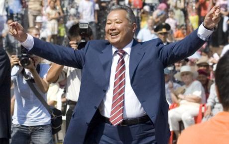 Президент Бакиев