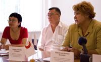 Организаторы программы по реабилитации уязвимых женщин