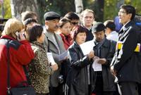 Митинг памяти Саипова