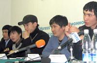 Kyrgyz showmen