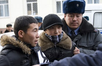 Kyrgyz opposition arrested