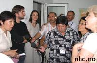NHC searched by Kyrgyz MIA