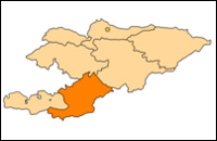 Osh Oblast Map