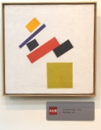 Kazimir Malevich exhibited in Bishkek