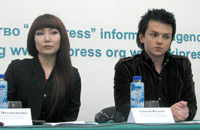 Assol Moldokmatova and Aleksey Filatov from KTR