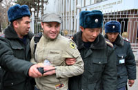Maksim Kuleshov detained in Bishkek