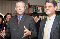Jean-Pierre Godard and Holger Gren