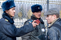 Maksim Kuleshov detained in Bishkek