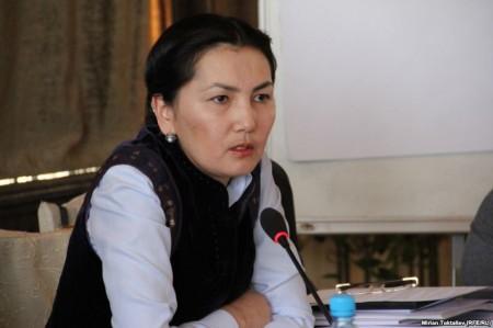 Генпрокурор Аида Салянова. Источник: Сайт радио Азаттык