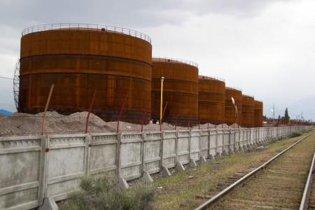 Строительство нефтеперерабатывающего завода в Кара-Балте