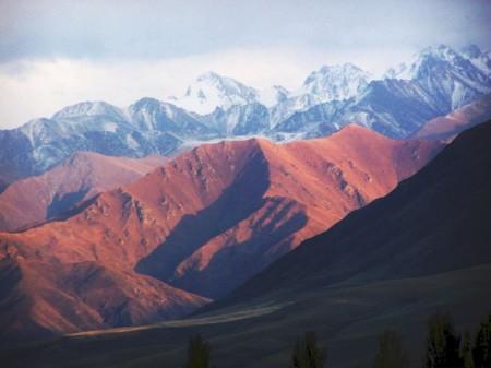Кыргызские горы