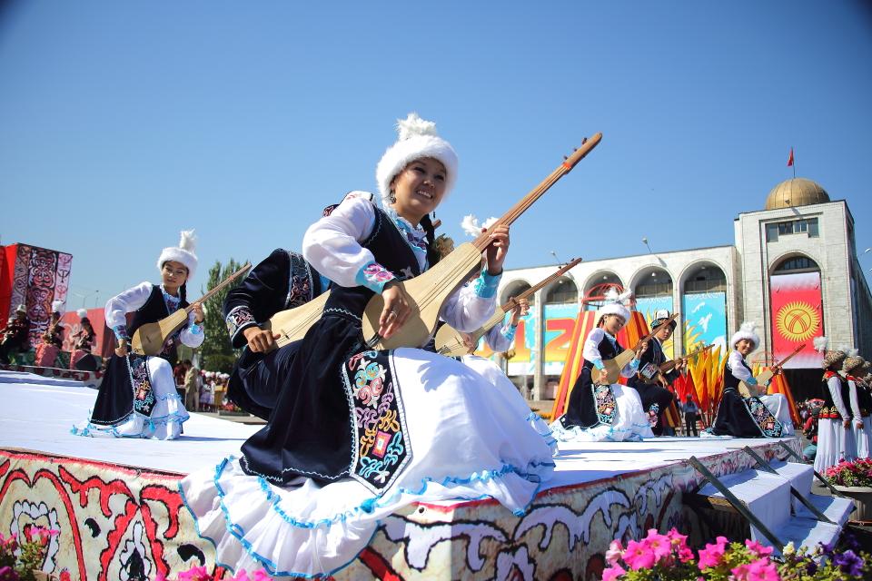 Празднование Дня Независимости в Кыргызстане