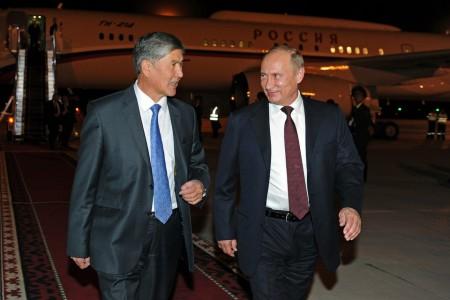 Визит Путина в Кыргызстан