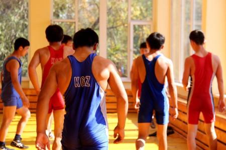 Новый спортзал для борцов сборной