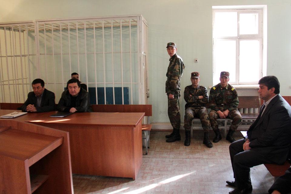Сабиров и Мирзахмедов на суде