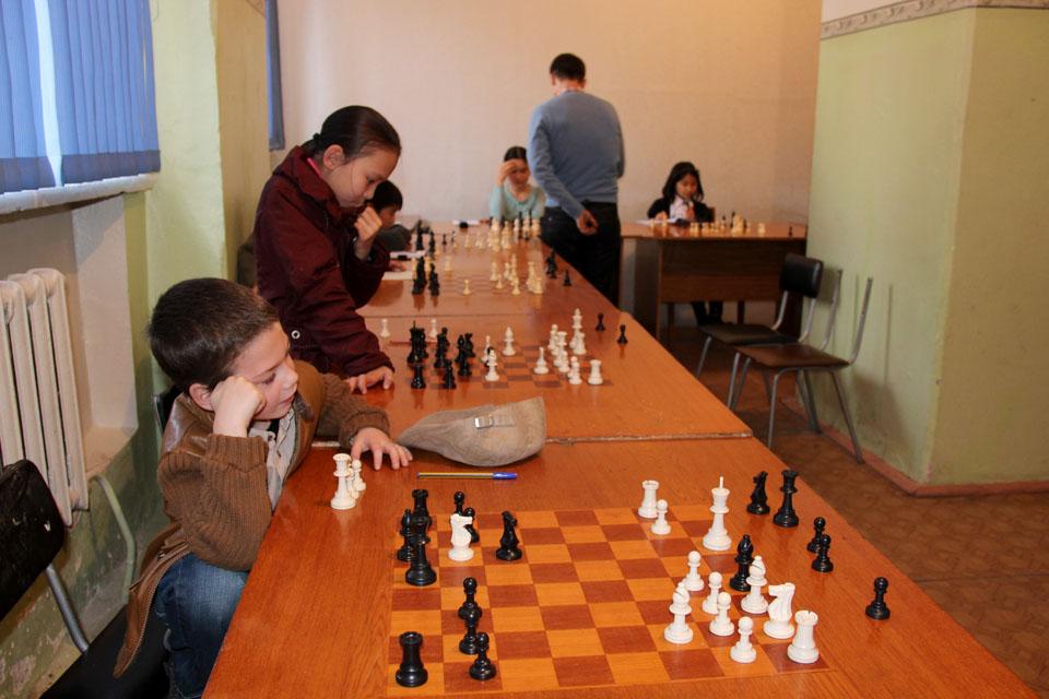 Юношеский шахматный турнир
