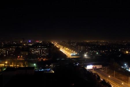 Улица Ибраимова. Автор: Бектур Искендер.