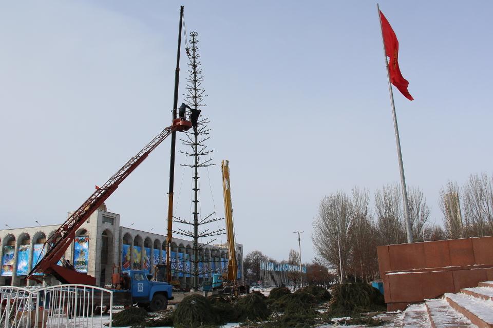 Восстановление бишкекской ёлки