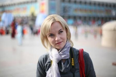 Елена Бондарь в Бишкеке
