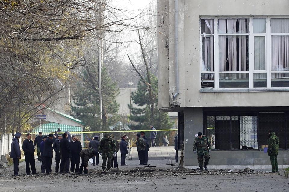 Взрыв возле Дворца спорта в 2010 году