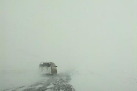 Дорога Талас-Бишкек, 1 декабря.