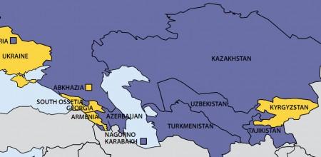 Карта Фридом Хаус