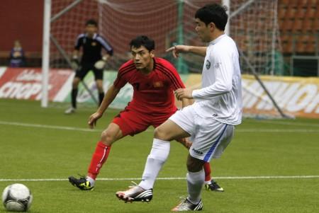 Матч Кыргызстан-Узбекистан, 21 января 2013 года