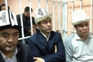 """Ташиев, Жапаров и Мамытов обвиняются в """"попытке захвата власти"""" во время митинга в начале октября 2012 года"""
