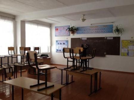 Кабинет в кара-сууйской школе