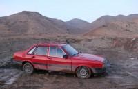 Во время блокировки Соха, баткенцы ездили по грязной и ухабистой дороге через Божой.