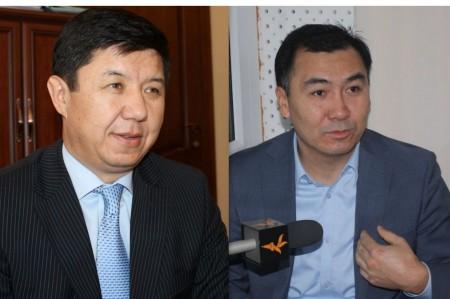 Сариев и Жээнбеков