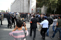 """Митинг за национализацию """"Кумтора"""" прошел в начале октября 2012 года."""