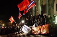 Во времена Акаева и Бакиева проводились митинги в поддержку властей