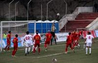 Во втором тайме Таджикистан мог в любую секунду переломить ход игры, но защите Кыргызстана удалось отстоять свои ворота.