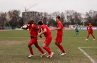 Кыргызстан прессинговал на протяжении всего матча, но был реализован только один момент — игравший первую игру за сборную Кыргызстана Дэвид Тетте получил передачу от Маки Кума и забил в концовке первого тайма.