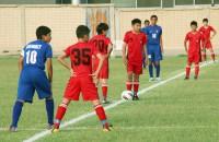 Юные кыргызстанцы выиграли два и проиграли два товарищеских матча во время сборов в Кувейте.