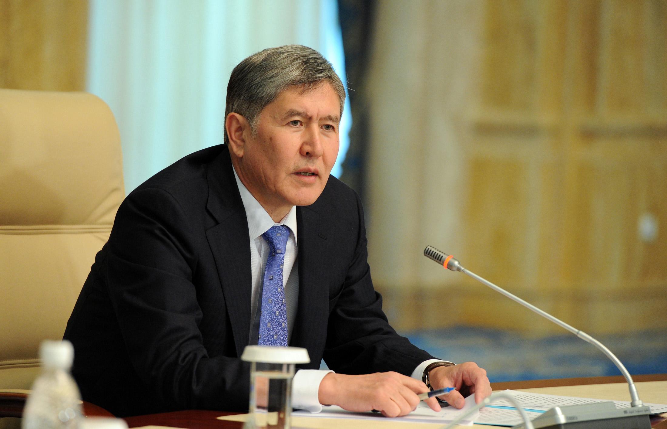 Ежегодная пресс-конференция А.Атамбаева пройдет 1 декабря