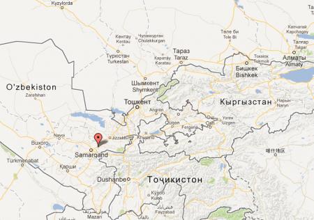 Землетрясение в Узбекистане
