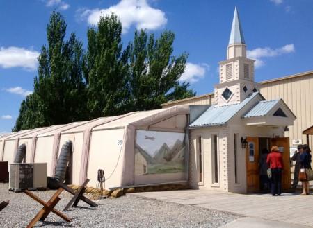 Для религиозных военнослужащих в ЦТП есть специальная постройка, в которой к своим богам обращаются приверженцы всех конфессий.