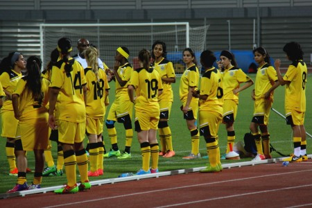 Женская сборная Бахрейна - самая непредсказуемая в группе C.