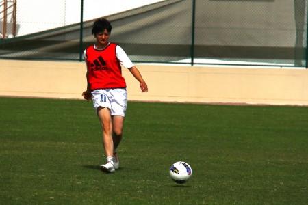 В Бахрейне Наргиза Аляева впервые выйдет на поле в качестве капитана сборной Кыргызстана. Фото: Гульжан Турдубаева