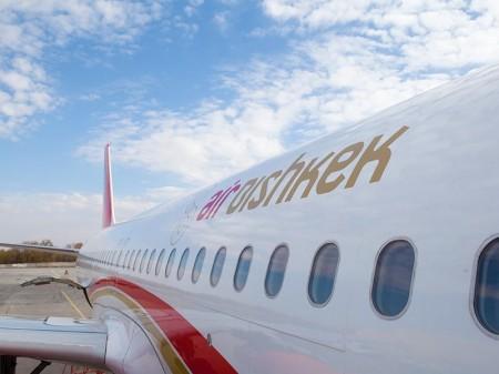 Самолёт Эйр Бишкека