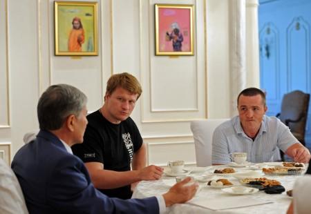 Боксеры и Атамбаев