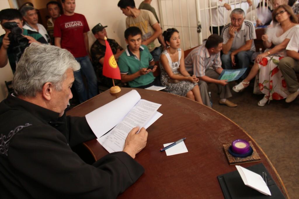 Судебный процесс над оппозиционным политиком Нариманом Тюлеевым, лето 2013 года.