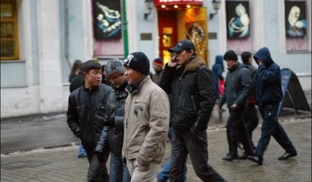 Трудовые мигранты из Кыргызстана