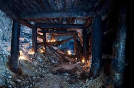шахта угольная