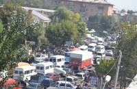 Пробки стали привычным явлением в Оше в последние годы