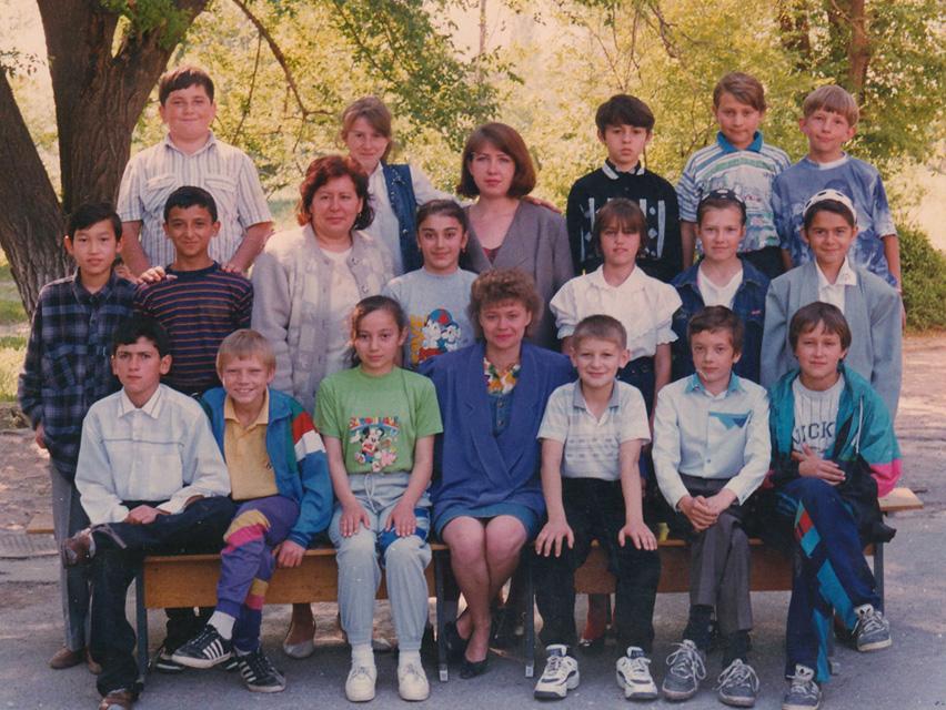 1997 год, 6 класс, школа №55, Бишкек.