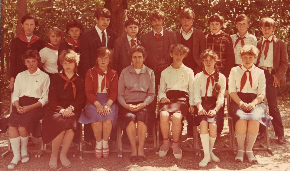 1987 год, 7 класс, школа №34, Бишкек.