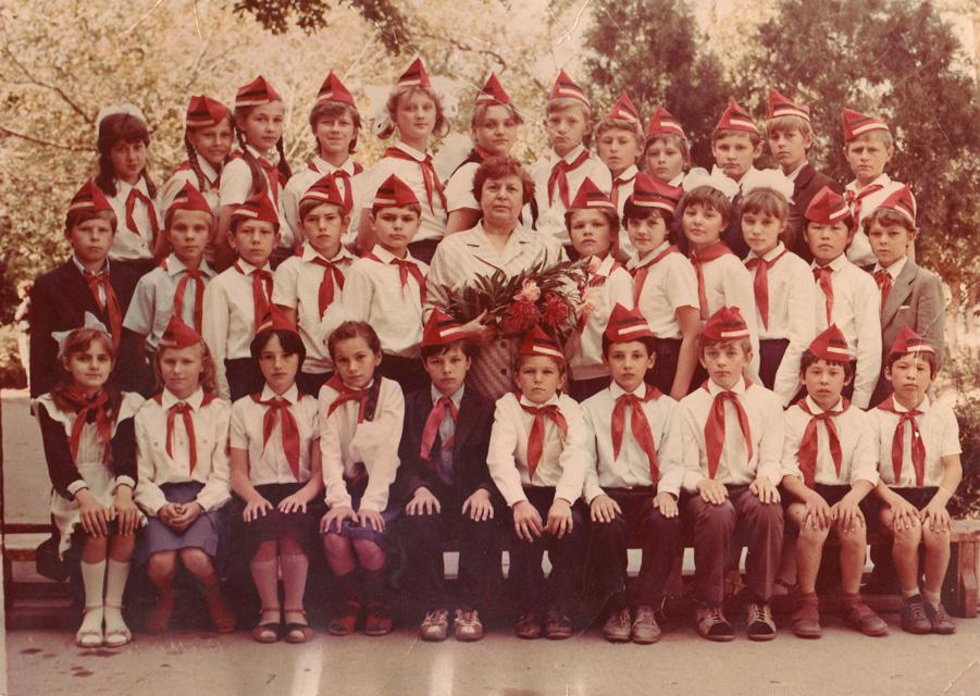 1988 год, 5 класс, школа №15, Бишкек.